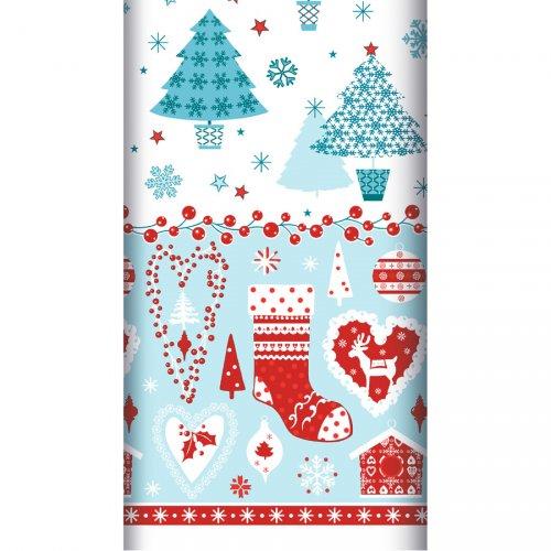 Tovaglia Natale blu