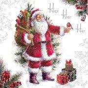 20 Tovaglioli Babbo Natale Vintage