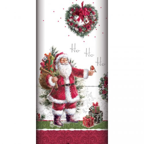 Tovaglia Vintage Babbo Natale