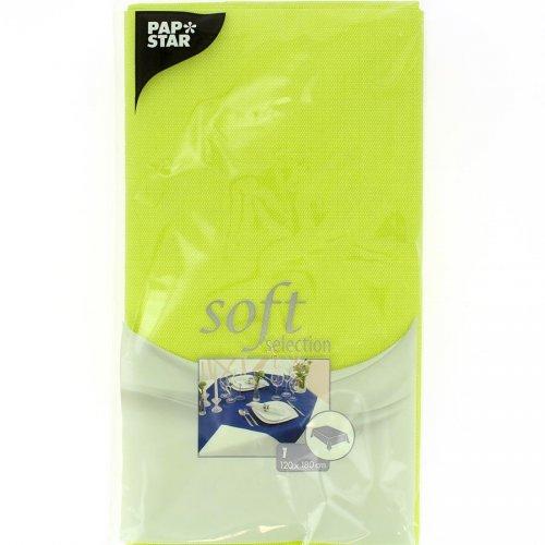 Tovaglia Soft Selection (180 cm) Verde Anice