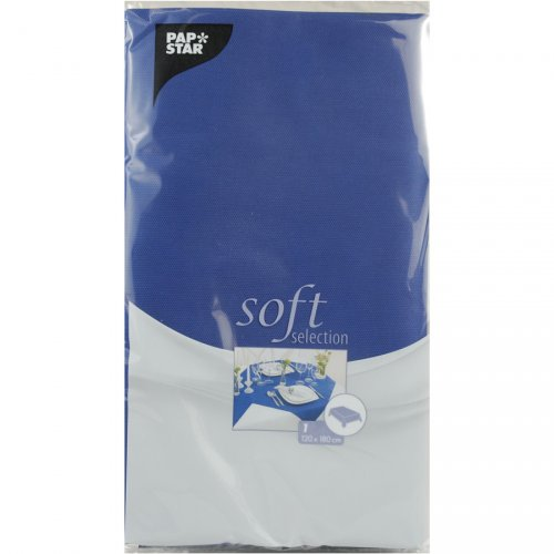Tovaglia Soft Selection (180 cm) Blu marino
