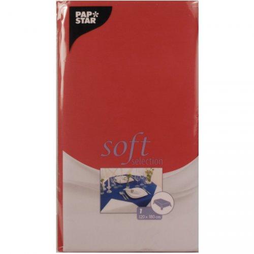 Tovaglia Soft Selection (180 cm) Rosso