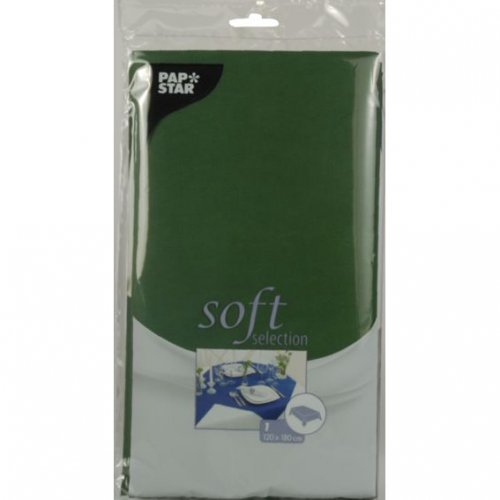 Tovaglia Soft Selection verde scuro