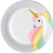 10 Piatti Unicorno Tenero