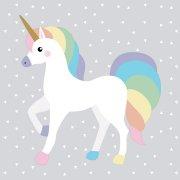 20 Tovaglioli Unicorno Tenero