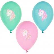 6 Palloncini Dolce Unicorno