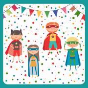 20 Tovaglioli - Super Eroi