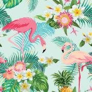 20 Tovagliolini - Fenicottero Exotic