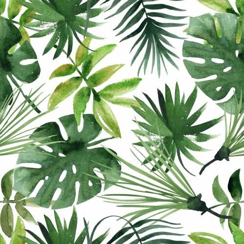 20 Tovaglioli formato grande - Giungla Tropicale