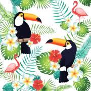 20 Tovaglioli - Tucano Tropicale
