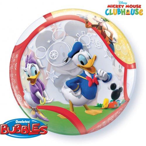 Palloncino Bubble piatto Mickey e i suoi amici