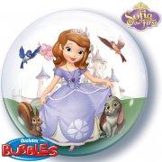 Palloncino Bubble piatto Principessa Sofia