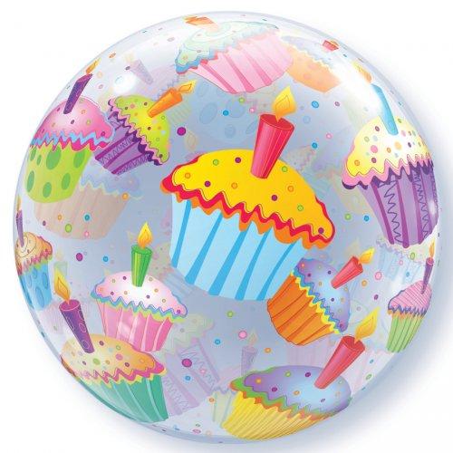 Palloncino Bubble piatto Cupcake