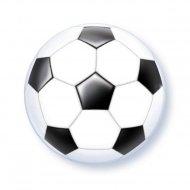 Palloncino Bubble piatto Football