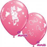 6 Palloncini Minnie Rosa