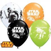 6 Palloncini Star Wars