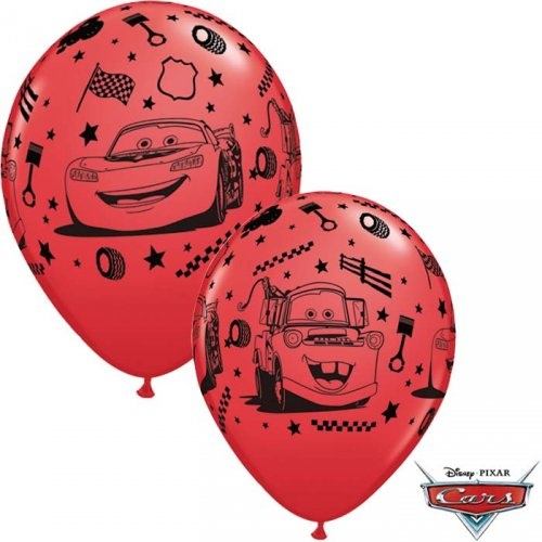 6 Palloncini Cars