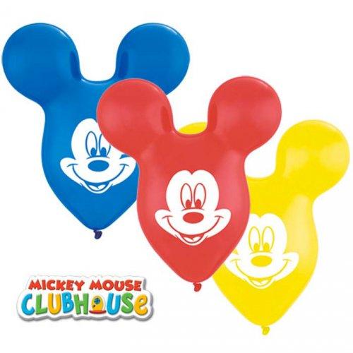 25 Palloncini Orecchie di Mickey Multicolori (38 cm)