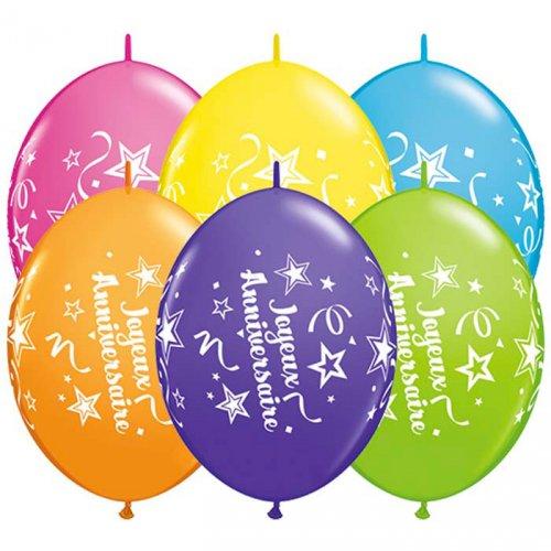 Ghirlanda 50 Palloncini Buon compleanno Stelle