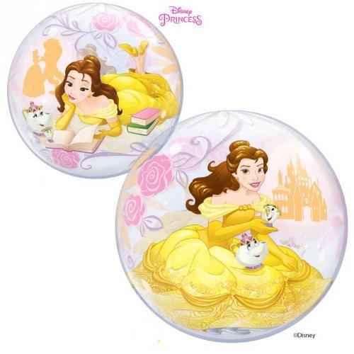 Palloncino Bubble piatto Principessa Disney Bella