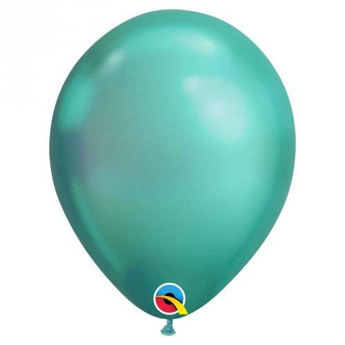 25 Palloncini Verde Cromo
