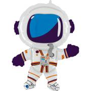 Palloncino gigante Happy Astronauta - 91 cm