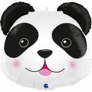 Palloncino Gigante Testa di Panda - 74 cm