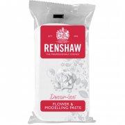 Pasta di zucchero bianca per modellazione fiori 250g Renshaw