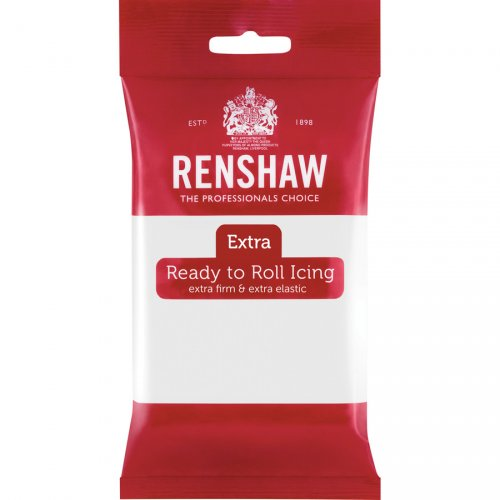 Pasta di zucchero extra Renshaw bianco 250g