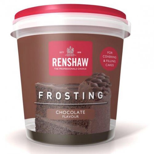 Glassa al cioccolato Renshaw 400g