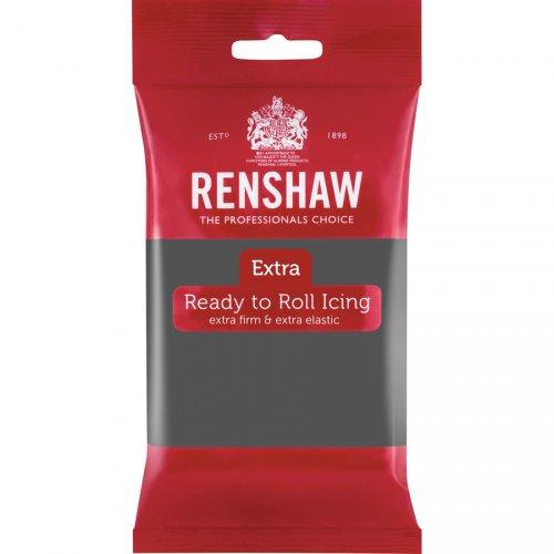 Pasta di zucchero extra Renshaw grigio 250g