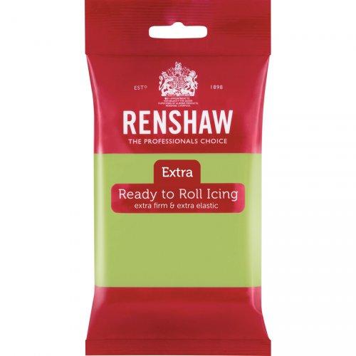 Pasta di zucchero extra Renshaw verde pastello 250g