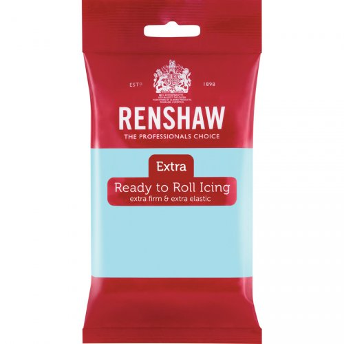 Pasta di zucchero extra Renshaw azzurro 250g