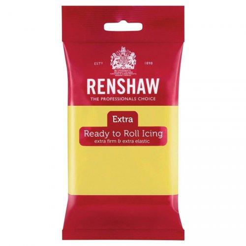 Pasta di zucchero extra Renshaw giallo pastello 250g