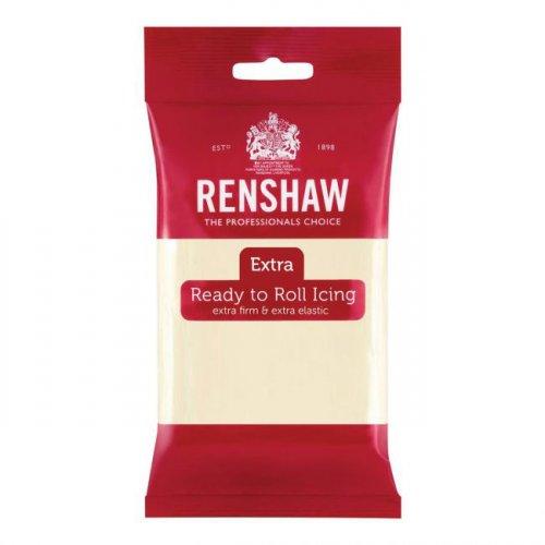Pasta di zucchero extra Renshaw cioccolato bianco 250g