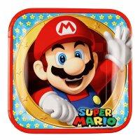 Contiene : 1 x 8 Piatti Mario Party