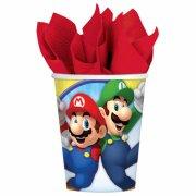 8 Bicchieri Mario Party