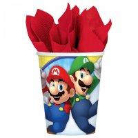Contiene : 1 x 8 Bicchieri Mario Party