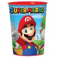 Bicchiere formato grande Mario (47 cl) - Plastica