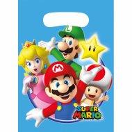 8 Sacchetti regalo Mario Party