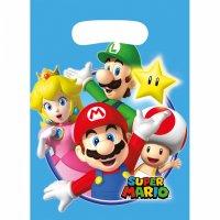 Contiene : 1 x 8 Sacchetti regalo Mario Party