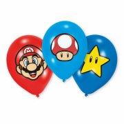 6 Palloncini Mario Party Friends