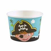 8 barattoli per caramelle Piccolo pirata e i suoi amici
