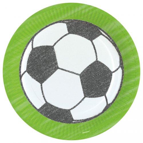8 Piatti Partita di Calcio