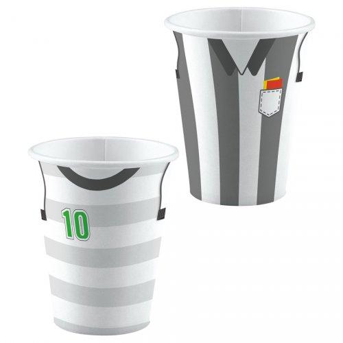 8 Bicchieri Partita di Calcio