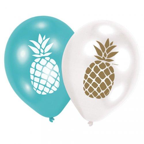 6 Palloncini Ananas Fun