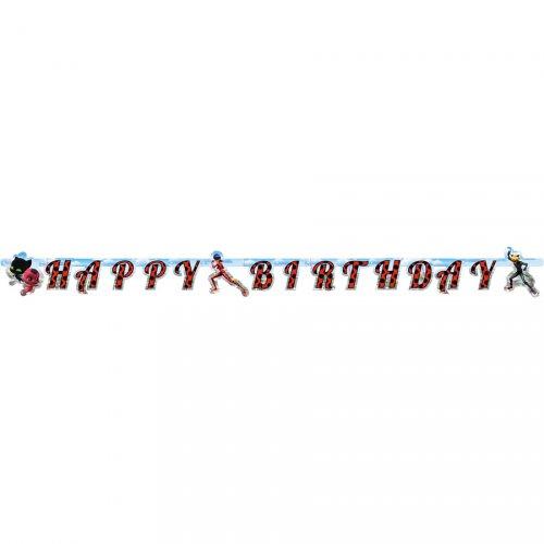 Ghirlanda Happy Birthday miracolosa (1,80 m)