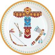 8 Piattini Indiani e Tipì