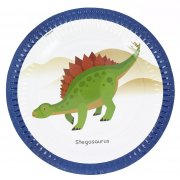 8 Piatti Happy Dino