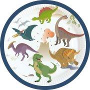 8 Piattini Happy Dino